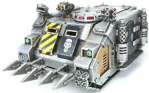 40k Iron Warriors Chaos Space Marines Forgeworld Deimos Pattern Rhino Transport