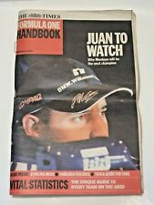 🏁 THE TIMES FORMULA ONE HANDBOOK 2002 Ferrari,Jaguar,Williams,Jordan,BAR 🏁