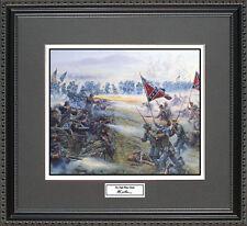 Mort Kunstler THE HIGH WATER MARK Framed Print Civil War Wall Art Gift
