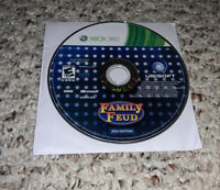 Family Feud - 2012 Edition (Microsoft Xbox 360, 2011) Disc Only Tested