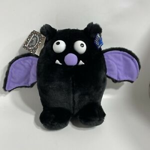 "Applause Halloween Bat Plush - 9"" Tall - New With Tags - 2019"