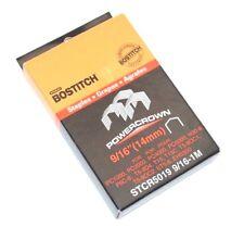 "Stanley BOSTITCH Power Crown 9/16"" Staples - Box of 1000 - STCR5019 9/16-1M"