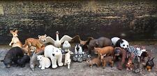 Lot Of 26 Schleich Wild Animal Figures