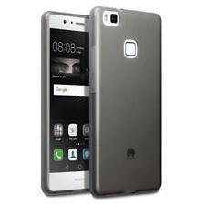 Cover e custodie pelle sintetici neri modello Per Huawei P9 lite per cellulari e palmari