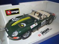 "Bburago Jaguar ""E"" Cabriolet (1961) dunkelgrün PIAVE JOLLY #44 in 1:18, J4 RAR!!"