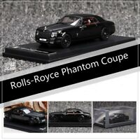 NEW 1:64 Scale Rolls-Royce RR Phantom Coupe Black Diecast Car Model Collection