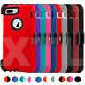 Shockproof Defender Case for iPhone 7 8 Plus SE + Belt Clip Holster Hard Cover