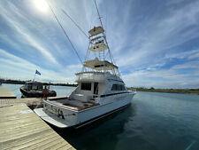 New listing 1995 Bertram 60' Convertible Motor Yacht Bertram Yachts Motor Compartment