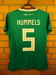 Hummels Germany Women Jersey 2018 2019 Shirt LARGE Away BR3149 Football Adidas