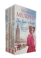 Elizabeth Murphy 3 Books Romance Family Liverspool Saga Land is Bright New