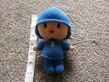 CBBC Cartoon Pocoyo Boy Blue Plush Soft Toy TV Film Character Figure Bandai Doll