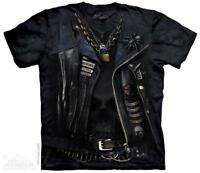 Funnelweb Biker Leather Jacket Costume The Mountain T-Shirt (4201) All Sizes