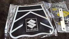 SUZUKI A100 A90 AC90 T90 T125 AC50 B120 M12 K11 FRONT FENDER MUD GUARD BLACK