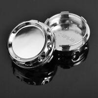 4pc 60mm(56mm) Universal Chrome Stylish Wheel Hub Center Rim Caps Aftermarket