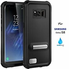 Samsung Galaxy S8 Waterproof Hybrid Case Shockproof Cover With Screen Protector