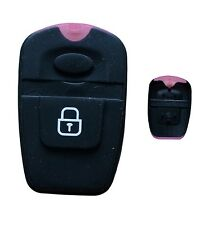 Cojín De Goma Para Hyundai Santa Fe 2 Botones Alarma remota, Llavero De Goma botón