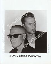 Larry Mullen and Adam Clayton Photo U2 Press Promo Photo 8x10