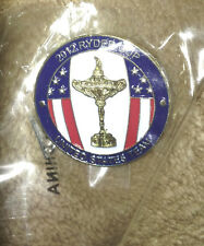 Rare Team USA Ryder Cup Pin 2012 Tiger Phil Bubba Zach Keegan Dufner Kuchar Webb