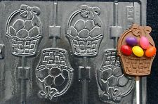 EASTER BASKET DECORATE LOLLIPOP CHOCOLATE CANDY MOLD MOLDS PARTY FAVORS