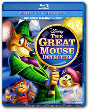 The Great Mouse Detective Blu-ray & DVD New 2-Disc Set