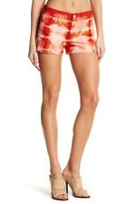 J Brand Womens Cut Off 1158O250 Short Slim Tied Cherry Tomato Red Size 25W