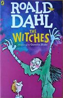'The Witches' Paperback Book by Roald Dahl