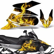 Yamaha APEX Decal Wrap Graphic Kit XTX Part Sled Snowmobile 2006-2011 ICE YELLOW