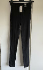 Leggings Size 10 Long River Island New With Tags Tall Black
