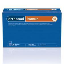 ORTHOMOL immun Granulat 30 Beutel Stück Monatspackung  PZN 01319962 plus Proben