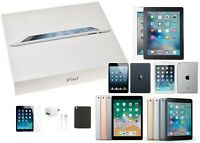 Apple iPad Bundle | 2/3/4/Mini1/2/3/4 | 16/32/64/128 GB | Wi-Fi Only | Open Box