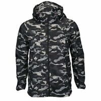 Nike Womens Premium Packable Lightweight Dark Camouflage Trail Jacket 546390-010
