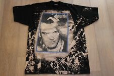 Vintage 90s The Smiths Morrissey Bleached T-Shirt Size XL Black Tee Mosquitohead