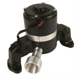 Water Pump, Electric, 35 gpm At 12 V, 6 amps, Aluminum, Chevy, Small Block, Each