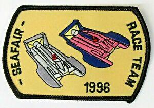 1996 Seattle SEAFAIR RACE TEAM shirt jacket uniform patch Hydroplane boat 0