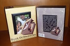 Book Full of Memories Wood Photo Book, Holds 96 (4x6in.) Precious Memories