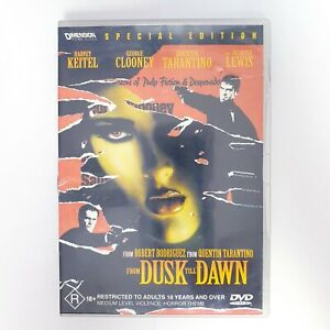 From Dusk Till Dawn Movie DVD Region 4 AUS Free Postage - Horror Action Vampire
