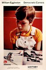 WHITNEY Museum Orig Art Exhibit Poster WILLIAM EGGLESTON NYC 2x3 Rare 2008 Mint