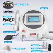 CE Certificated Q-Switch Nd: Yag laser tattoo removal  machine with 1064nm&532nm
