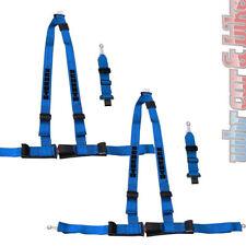 2 Stück Schroth Gurt Rallye 3 ASM blau Statik Hosenträgergurt links & rechts