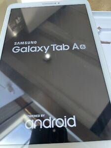 """Samsung Galaxy Tab A6 (2016) 10,1"""" 16 Go Wi-Fi Tablette - Blanche"""
