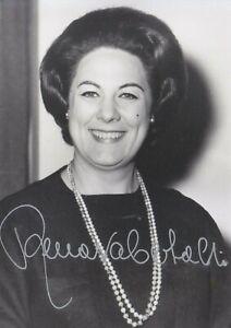 AUTOGRAPHED PHOTO OF OPERA SINGER Renata Tebaldi soprano