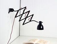 Wunderschöne XL HALA Scherenlampe Bauhaus Lampe - restauriert, selten!