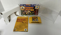 Donkey Kong 64 Nintendo 64 NO Expansion PAK!! Box Manual Complete CIB N64