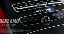 3d Chrom Auto Emblem Abzeichen Aufkleber Innen Außen für Mercedes-Benz C E S AMG