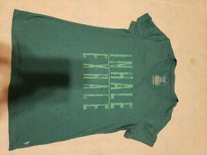 Danskin Teal T Shirt. Small (4-6)