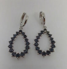 Formal/Wedding  Black Crystal  Teardrop Shaped Earring