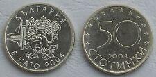 Bulgarien / Bulgaria 50 Stotinki 2004 p272 unz.