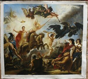 "42""x46"" Repro oil painting on canvas Galicia Allegorical-Battle of Austerlitz"