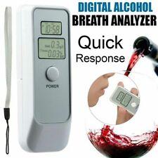 Digital LCD Police Breathalyzer Breath Test Alcohol Analyzer Detector Tester US