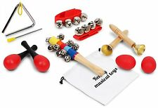 Kenley Musical Instruments for Kids - Percussion & Rhythm Maracas Band Play Toys